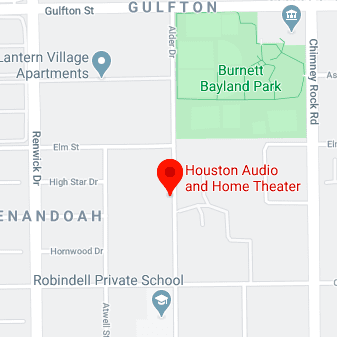 Directions to Houston Audio
